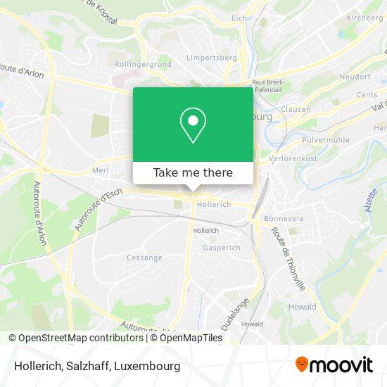 Hollerich, Salzhaff map