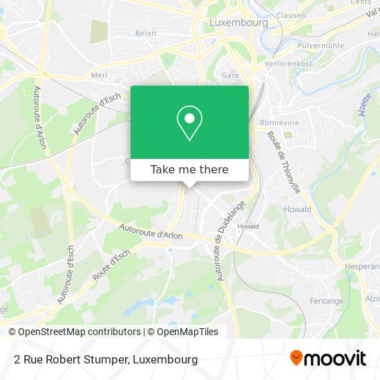 2 Rue Robert Stumper map