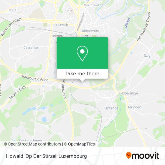 Howald, Op Der Stirzel map