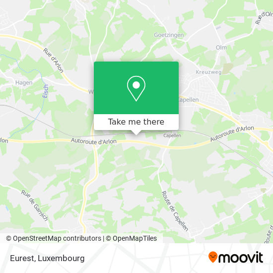 Eurest map