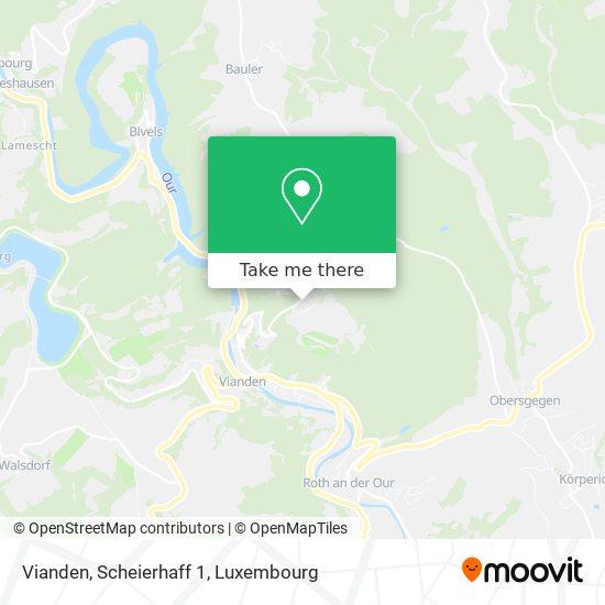 Vianden, Scheierhaff 1 map