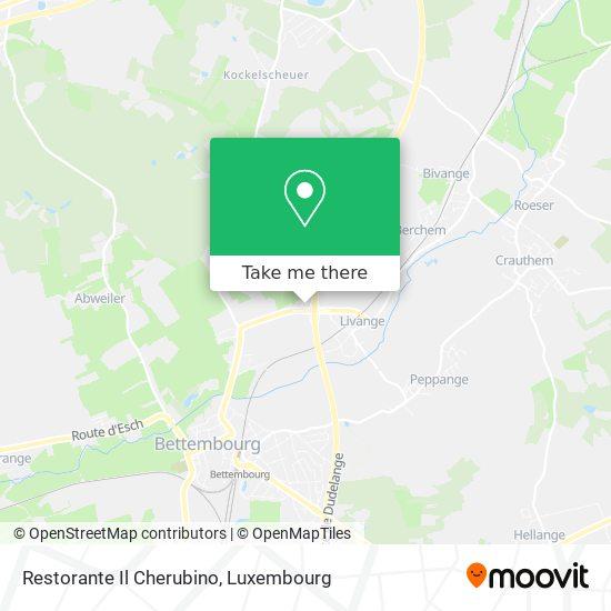Restorante Il Cherubino map
