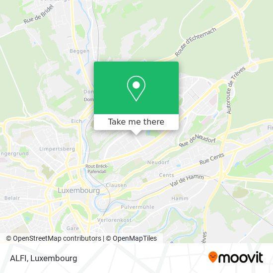 ALFI map