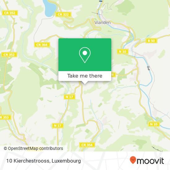 10 Kierchestrooss map