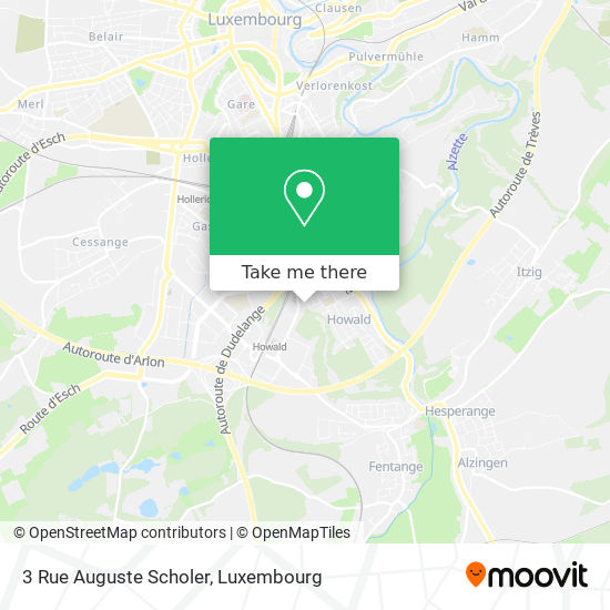 3 Rue Auguste Scholer map