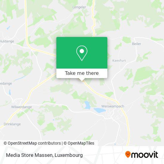 Media Store Massen map
