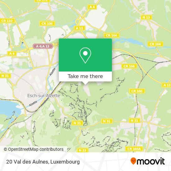 20 Val des Aulnes map