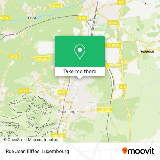 Rue Jean Eiffes map