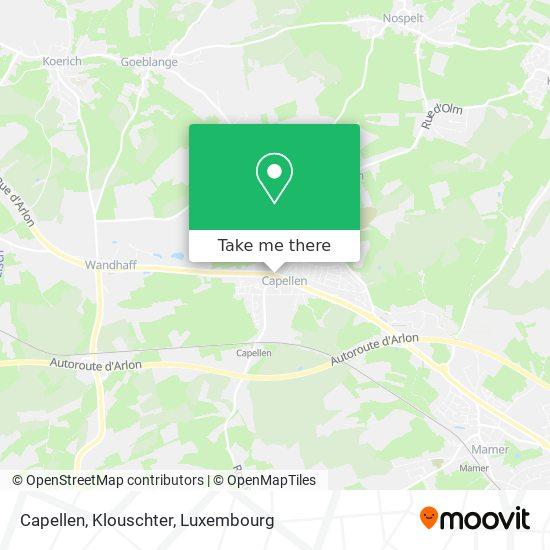 Capellen, Klouschter map