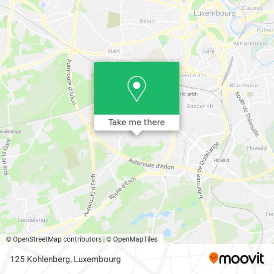 125 Kohlenberg map