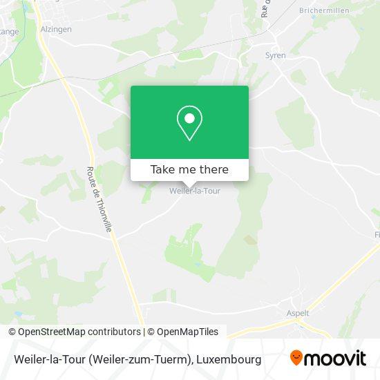 Weiler-la-Tour (Weiler-zum-Tuerm) map