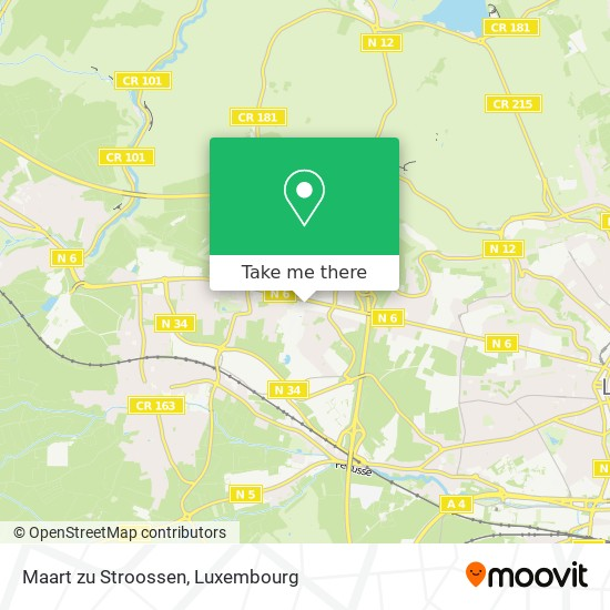 Maart zu Stroossen map