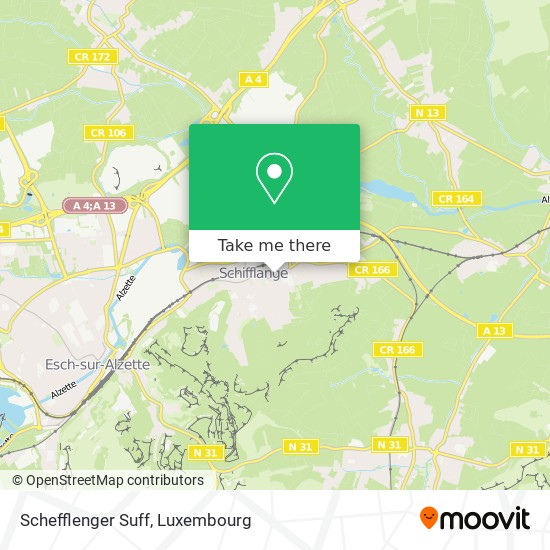 Schefflenger Suff map