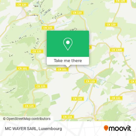 MC WAYER SARL map