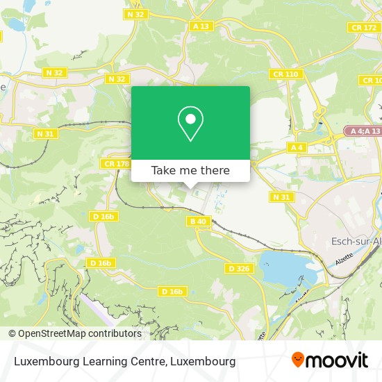 Luxembourg Learning Centre map