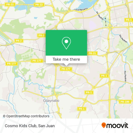 Cosmo Kids Club map