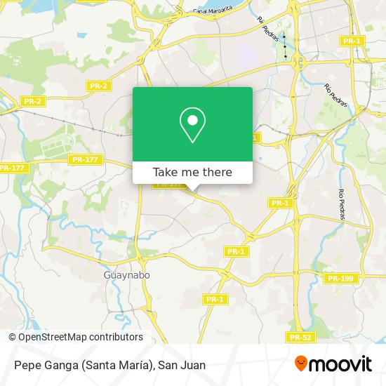 Pepe Ganga (Santa María) map