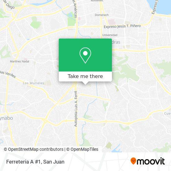 Ferreteria A #1 map