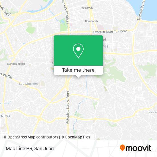 Mac Line PR map
