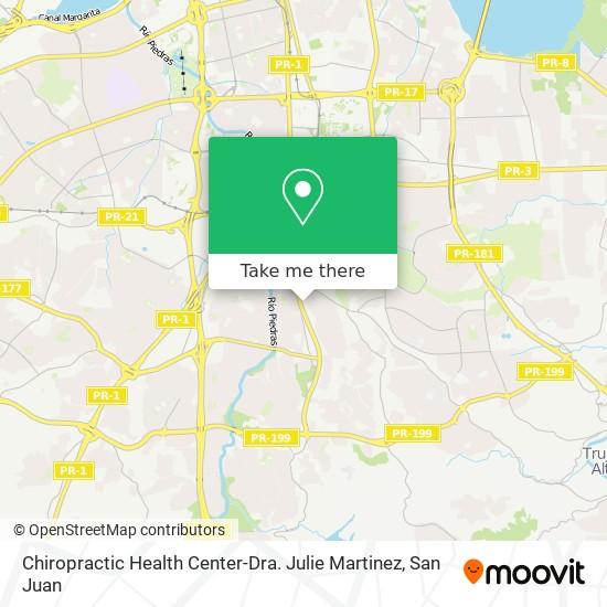 Chiropractic Health Center-Dra. Julie Martinez map