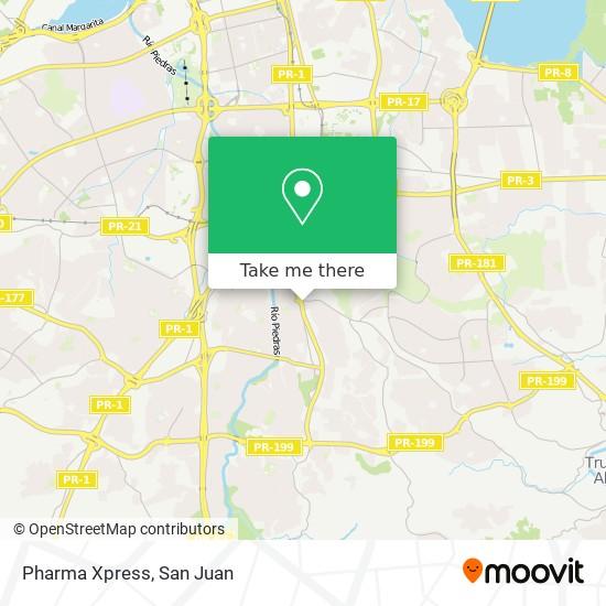 Pharma Xpress map