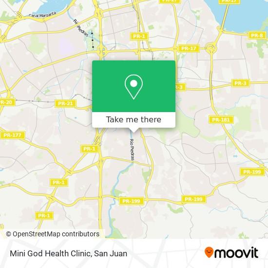 Mini God Health Clinic map