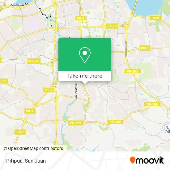 Pitipuá map