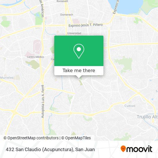 432 San Claudio (Acupunctura) map