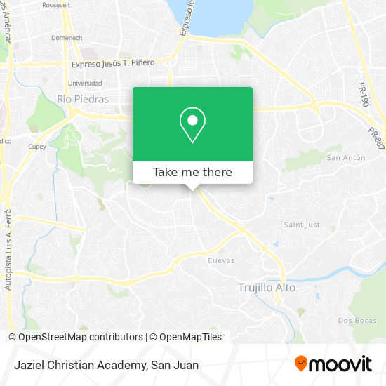 Jaziel Christian Academy map