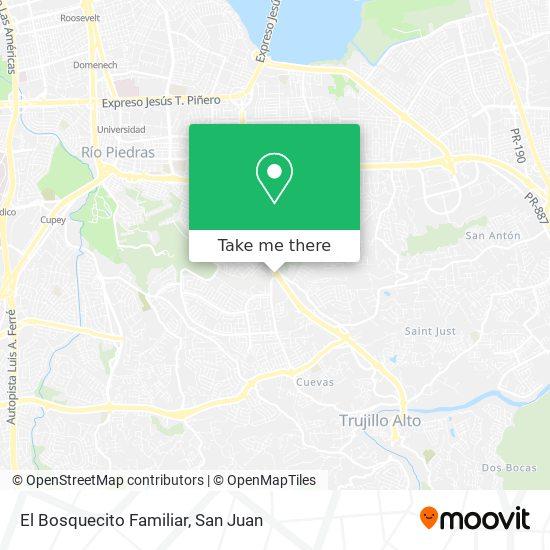 El Bosquecito Familiar map