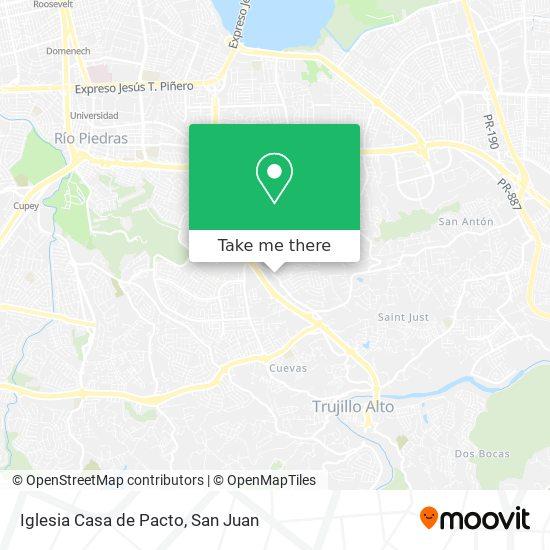 Iglesia Casa de Pacto map