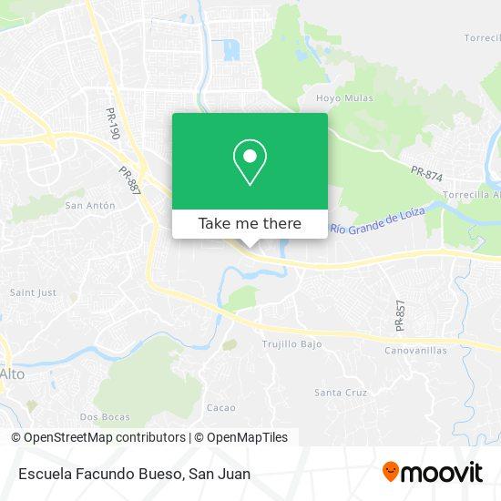 Escuela Facundo Bueso map