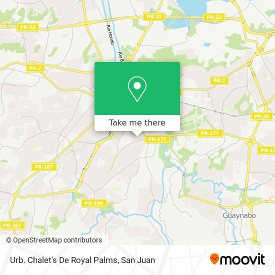 Urb. Chalet's De Royal Palms map