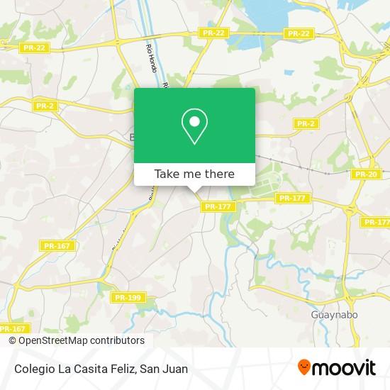 Colegio La Casita Feliz map