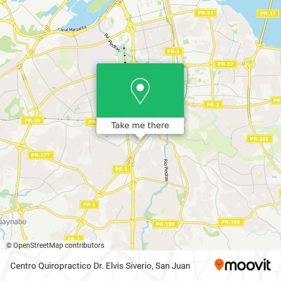 Centro Quiropractico Dr. Elvis Siverio map