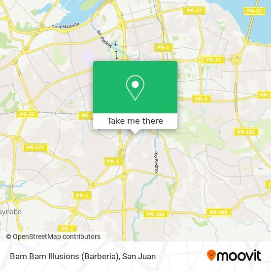 Bam Bam Illusions (Barberia) map