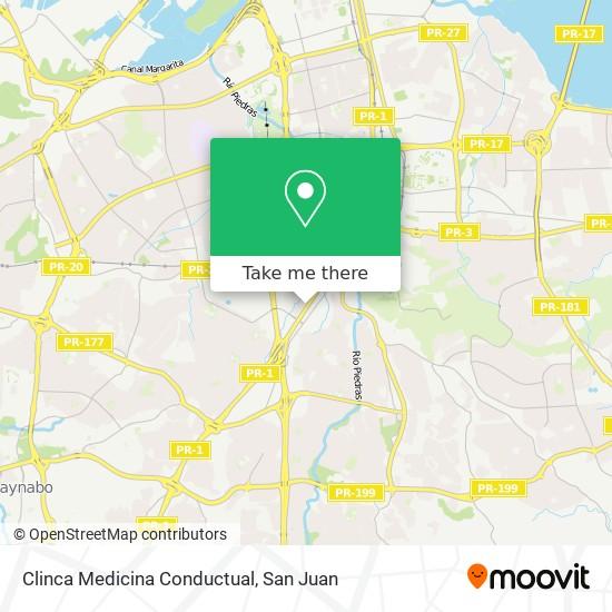 Clinca Medicina Conductual map