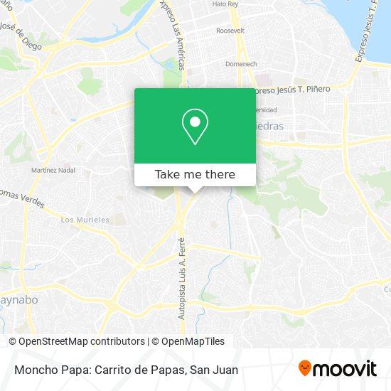 Moncho Papa: Carrito de Papas map