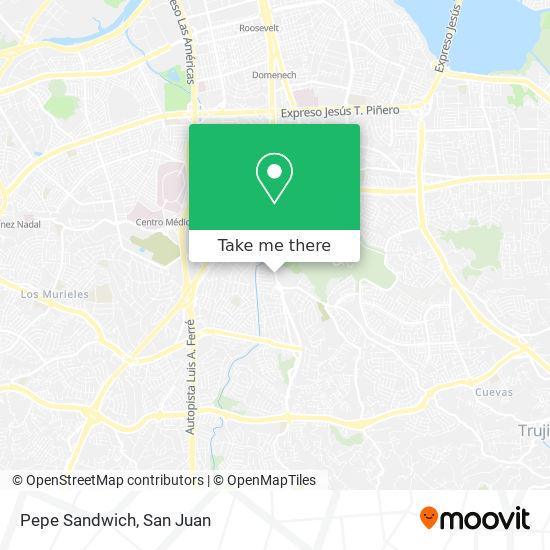 Pepe Sandwich map