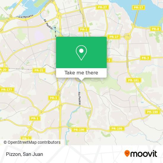 Pizzon map