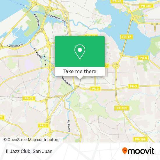 Il Jazz Club map