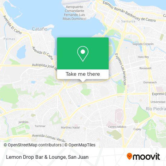Lemon Drop Bar & Lounge map