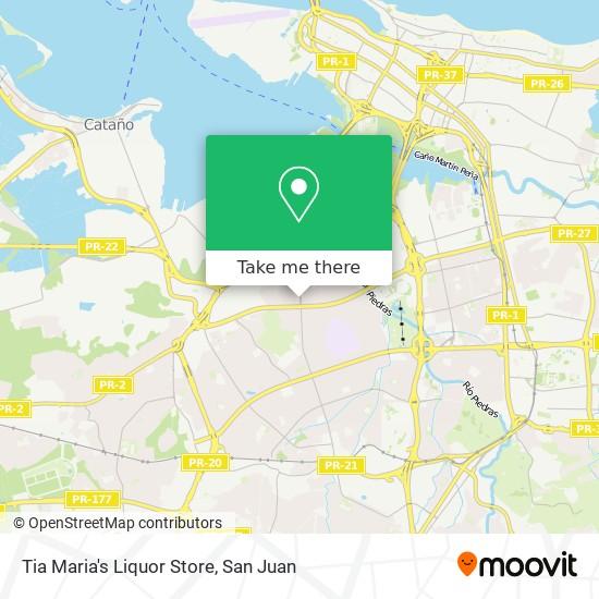 Tia Maria's Liquor Store map