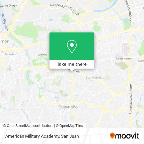 American Military Academy map