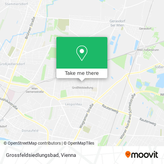 Grossfeldsiedlungsbad map