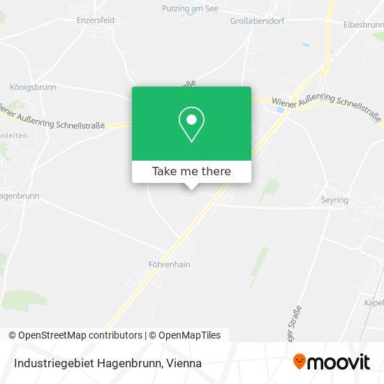 Industriegebiet Hagenbrunn map