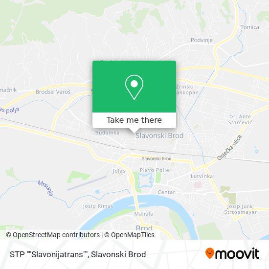"Stp ""Slavonijatrans"" map"