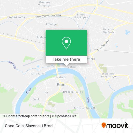 Coca-Cola map