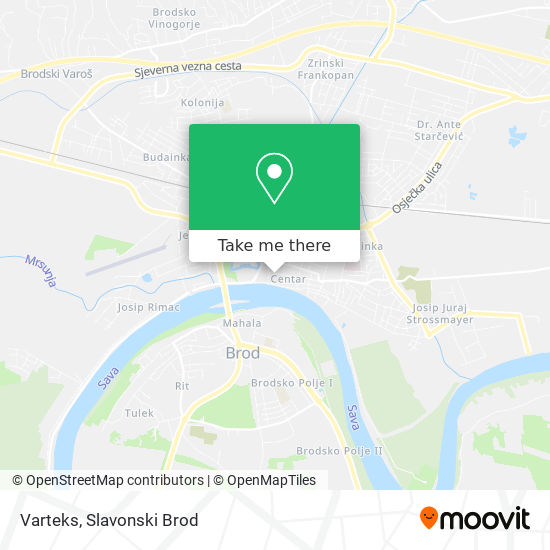 Varteks map