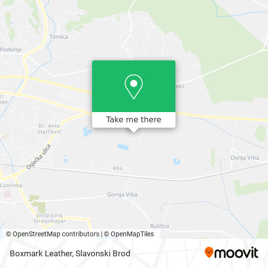 Boxmark Leather map